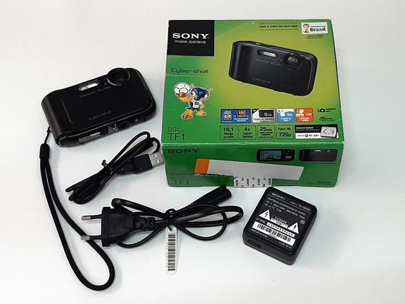 Câmera Sony Dsc-tf1 À Prova D