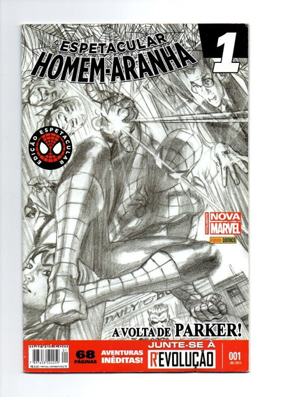 Hq Espetacular Homem Aranha A Voltade De Parker Nº 01 (1140)