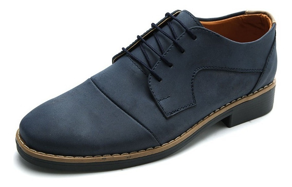 Zapato Hombre Azul Tellenzi 003