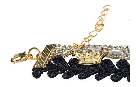 Collar Gargantilla Queen Choker Paris Hilton Corazones Noah