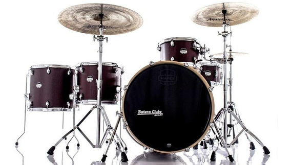 Bateria Mapex Mars Crossover Ma528sf Bloodwood 22¨,12¨,14¨,1