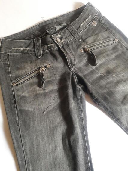Calça Jeans Feminina Preta Zoomp 38