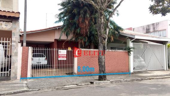 Casa Com 3 Dormitórios À Venda, 130 M² Por R$ 335.000,00 - Jardim Paulista - São José Dos Campos/sp - Ca1852