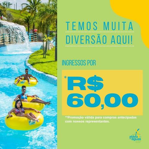 Imagem 1 de 5 de Ingresso Para O Aldeia Das Águas Park Resort