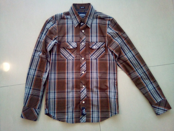 Camisa Moose Slim Fit Talla S