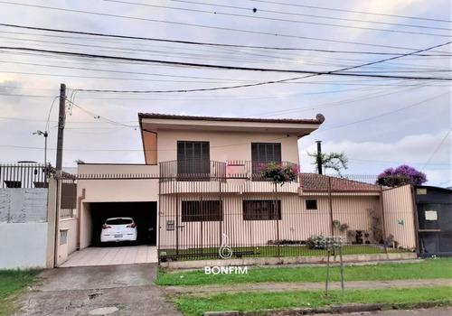 Imagem 1 de 19 de Casa Com 4 Dormitórios À Venda Com 424m² Por R$ 850.000,00 No Bairro Água Verde - Curitiba / Pr - Csa0258