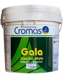 Pinturas Cromas Gala Cuñete Blanco Superior Caucho Clase A A