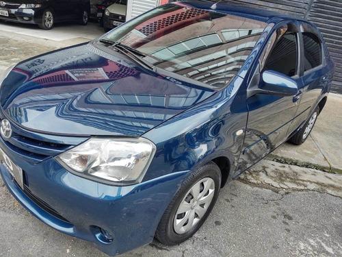 Etios Sedan Xs 2016 Financ. Ate Sem Entrada  Aplicativo