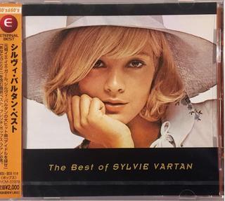 Sylvie Vartan - The Best Of - Cd Importado Japan Lacrado