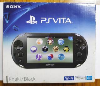 Sony Ps Vita Slim Completa En Caja Descuento De 3000