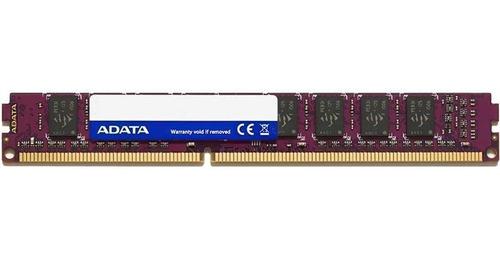 Memoria Ram 8gb Adata Ddr3l Pc 1600 Mhz Vlp U-dimm 1.35v