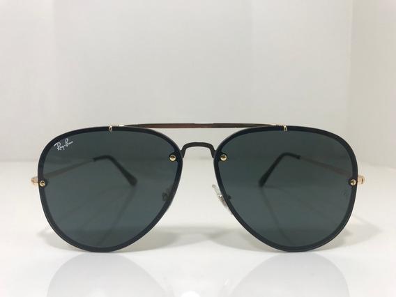 Oculos De Sol Ray Ban Rb 3584 Blaze Aviador Lançamento Orig