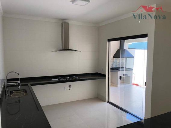 Casa Com 3 Suítes À Venda, 180 M² Por R$ 880.000 - Jardim Residencial Dona Lucilla - Indaiatuba/sp - Ca1008
