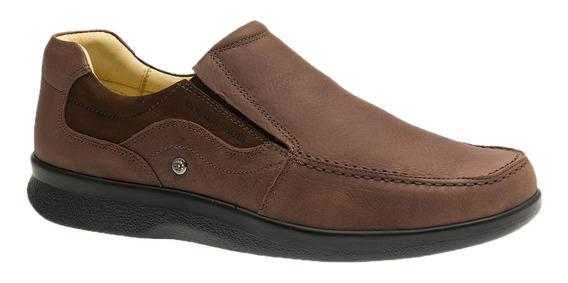 Sapato Esporão Doctor Shoes 3062 Café