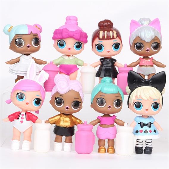 Muñecas Surprise Lol 2.ª Generación 8 Pzs. + Biberón
