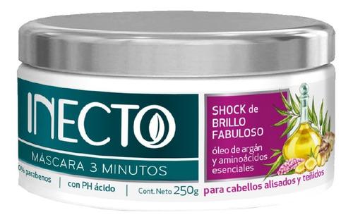 Mascara Inecto 3 Minutos Shock Brillo Fabuloso X 250g