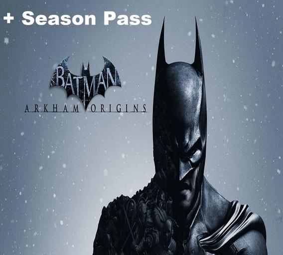 Batman Arkham Origins Pc Original Key Steam + Season Pass