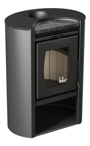Imagen 1 de 6 de Estufa Calefactor Ecológico Doble Combustión Liv 450