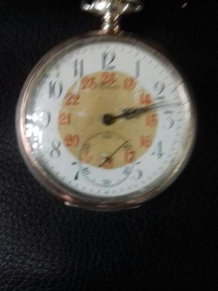 Reloj Antiguo De Bolsillo 3 Tapas Billodes