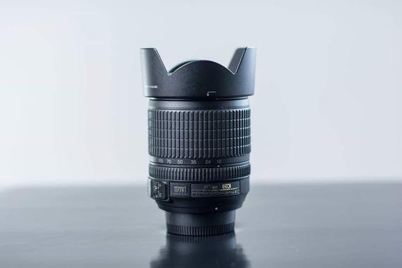 Lente Nikon 18-105 3.5 Em Otimo Estado Nikkor