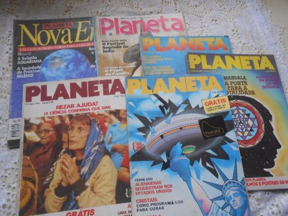 Planeta Editora Três 6 Revistas Nrs 4/133/171/184/188/346