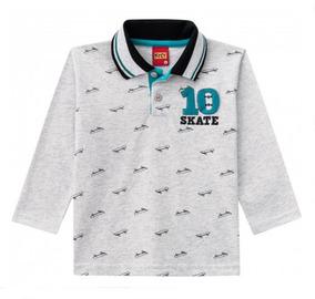 Camisa Polo Infantil Masculina Kyly - 084206933 Ver. Mes. Ma
