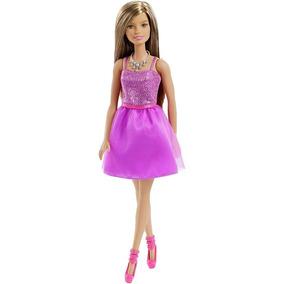 Boneca Barbie - Vestido Roxo