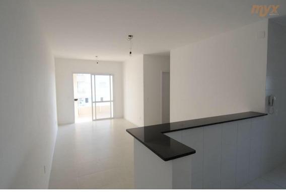 Apartamento Com 3 Dormitórios Para Alugar, 77 M² Por R$ 2.500,00/mês - Ponta Da Praia - Santos/sp - Ap4966