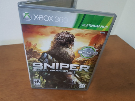 Sniper Ghost Warrior Usado Original Xbox 360 Midia Fisica