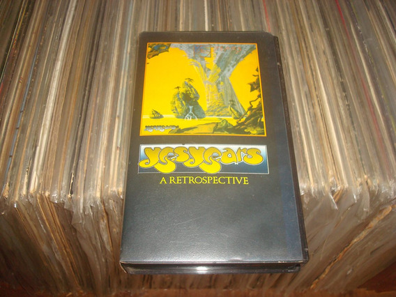 Fita Vhs - Yes Years A Retrospective