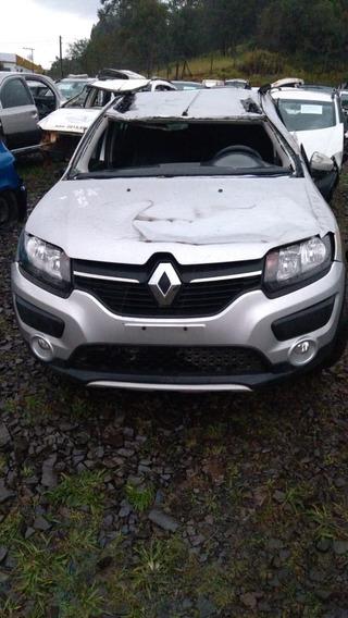 Sucata Renault Sandero 1.6 Flex 2017 Rs Caí Peças