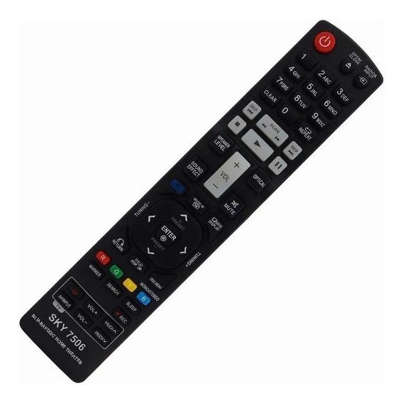 Controle P/ Blu Ray LG Akb72976001, 72976011 , 72976033
