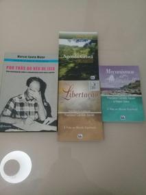 Lote Com 4 Livros Espíritas De Chico Xavier