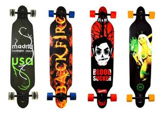 Skate Longboard Truck Blindado Invertido Promoção