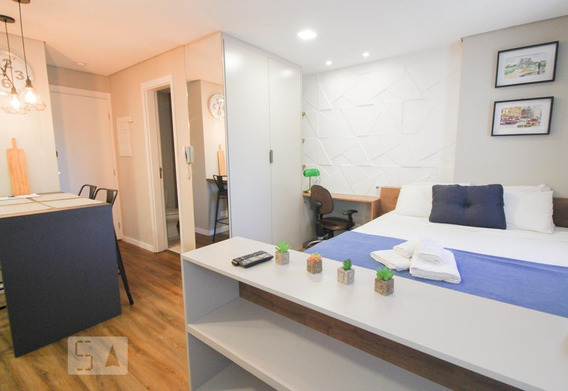 Apartamento Para Aluguel - Rebouças, 1 Quarto, 30 - 893100082