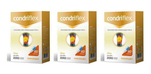 Imagem 1 de 1 de Maxinutri Condriflex Colágeno 40mg C/60 (kit C/03)