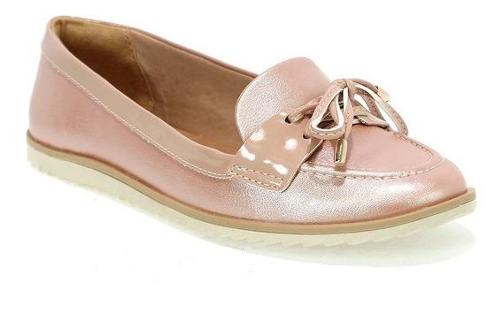 Sapato Feminino Mocassim Ramarim Rose