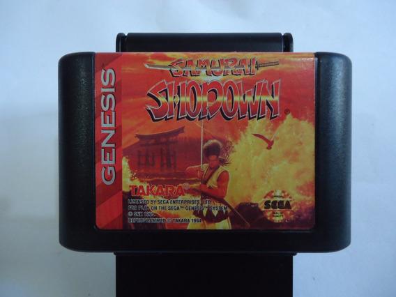 Cartucho Samurai Shodown Para Mega Drive