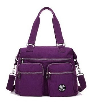 Bolsa Grande Repelente Al Agua Shoulder Bag Crossboby Bag E2