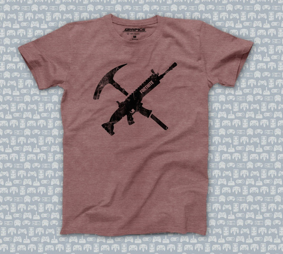 Playera Fortnite Tools Camiseta Geek Gamer