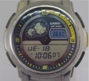 Relógio Casio T05240 Masculino Light Digital Webclock
