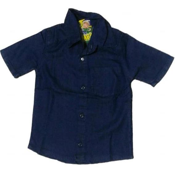 Jaqueta Jeans Infantis Menino Infantil Masculino 2 4 6 8 10