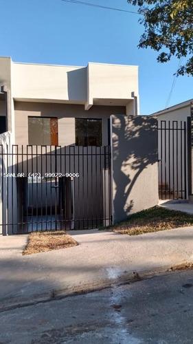 Casa Para Venda Em Ponta Grossa, Contorno, 2 Dormitórios, 1 Banheiro, 1 Vaga - _1-1852208