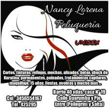 Nancy Lorena Peluquería