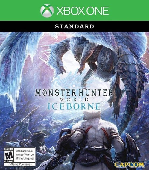 Monster Hunter World Iceborne- Xbox One / Míd. Física / Novo