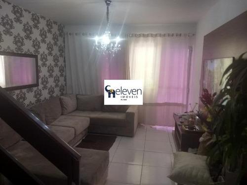 Casa Em Condominio A Venda Em Pituaçu, Salvador Com 2 Quartos Sendo Uma Suite, Sala, Varanda, Cozinha, Área De Serviço, Banheiros, 2 Vagas, 90 M². - Ca00271 - 32791677