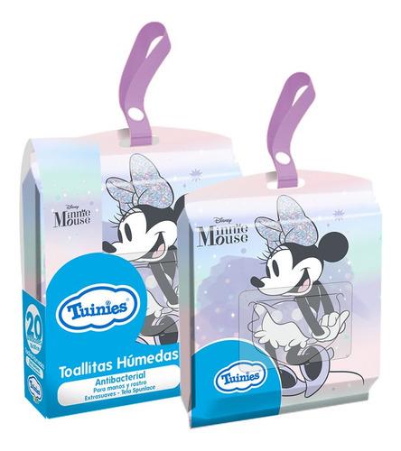 Toallitas Humedas Antibacteriales X20u- Minnie