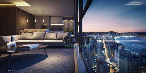 Imagem 1 de 5 de Apartamento No Edifício Vitra, Balneário Camboriú - Ap1356