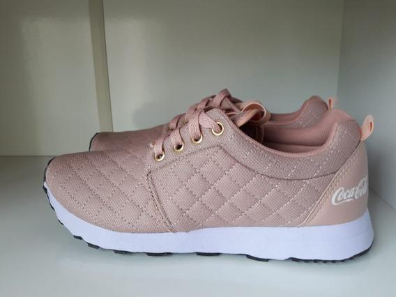 Kit 3prs Tênis Caminhada Feminino Coca Cola Sense - Promoção