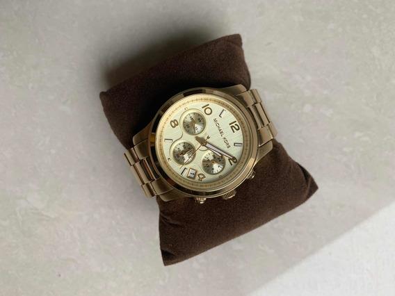 Reloj De Mujer Dorado Michael Kors Original